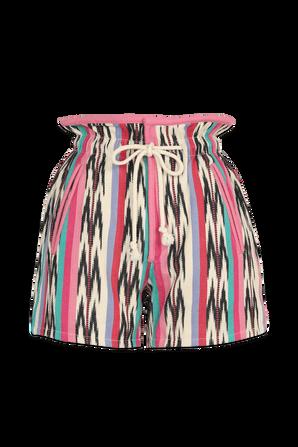 Inima Bermuda Shorts In Multi Colores ISABEL MARANT