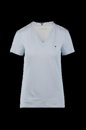 Logo T-Shirt in Light Blue TOMMY HILFIGER