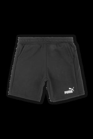 מידות 2-14 מכנסיים קצרים בשחור עם לוגו PUMA KIDS