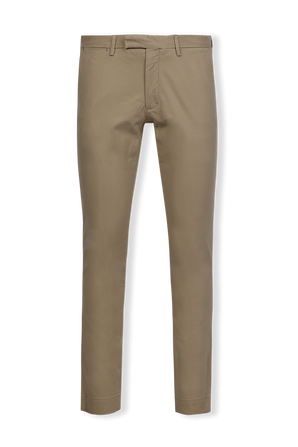 Classic Straight Flat Pants in Black POLO RALPH LAUREN