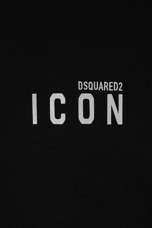 Icon Mini Logo Tee in Black DSQUARED2