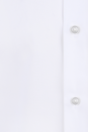 Jenno Slim Fit Shirt in White BOSS
