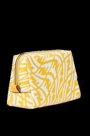 Vertigo Canvas Small Bag in Yellow and White FENDI
