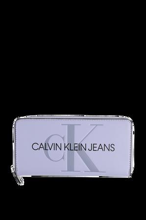 Zip Around Wallet in Lavender CALVIN KLEIN