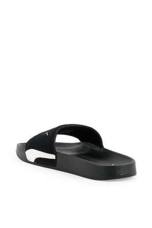 Leadcat Sude Classic Sandals in Black PUMA