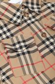 גילאי 3-14 שמלת טיגן במשבצות קלאסיות image number null BURBERRY