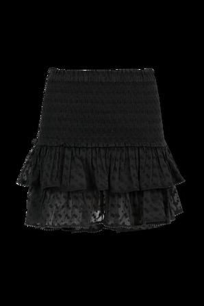 Tinaomi Mini Skirt in Black ISABEL MARANT