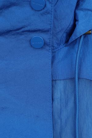 Ivy Park x Adidas Coverup Coat in Blue ADIDAS ORIGINALS
