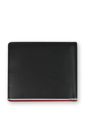 Commuter Credit Card and Coin Wallet in Black TOMMY HILFIGER