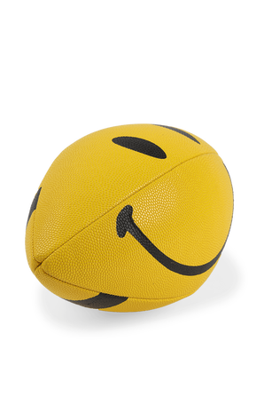 Yellow Smiley Football CHINATOWN MARKET