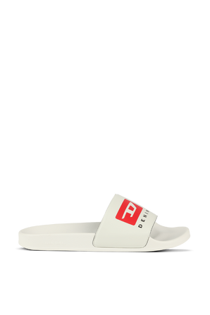 Split Logo Sliders in White DIESEL