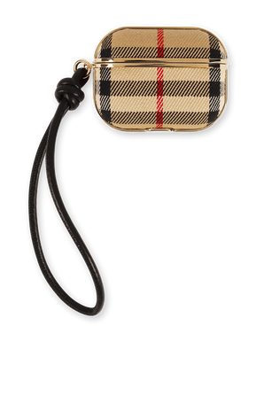 Air Pod Case In Vintage Check BURBERRY