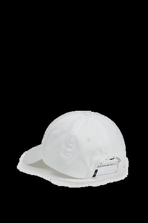 Cap Logo Hat in White CALVIN KLEIN