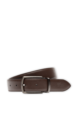 Reversible Leather Belt in Brown LACOSTE