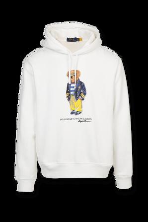 Polo Bear Sweatshirt in White POLO RALPH LAUREN