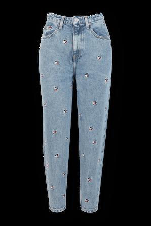 Rare Vintage High Waist Mom Jeans in Light Blue TOMMY HILFIGER