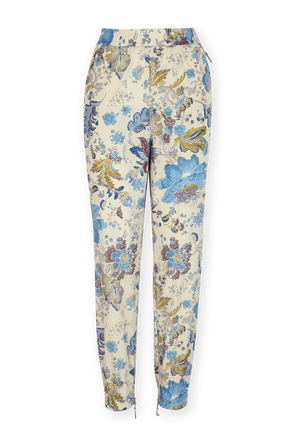 מכנסיים פרחוניים בצבע שמנת ISABEL MARANT