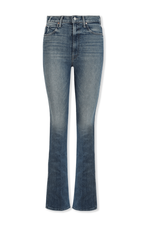 The Smokin High Waisted Jeans in Light Wash MOTHER
