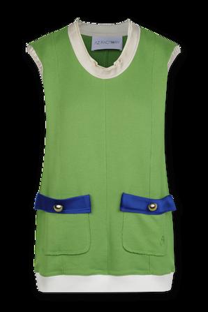 Organic Cotton Top in Green AZ FACTORY