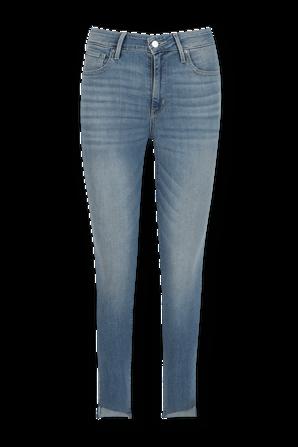 מכנסי ג'ינס 721 סקיני גבוהים בגוון אינדיגו בהיר LEVI`S