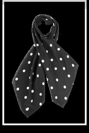 Silk Scarf in Polka Dots SAINT LAURENT