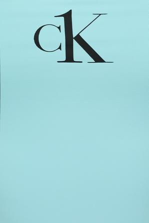 Scoop Neck Swinsuit in Light Blue CALVIN KLEIN