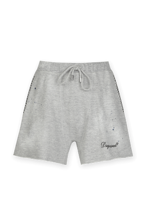 Ink Spots Shorts in Grey DSQUARED2