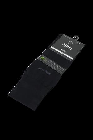 Socks in Mercerised Egyptian Cotton in Dark Blue BOSS