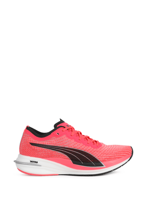 Deviate Nitro Running Shoes in Red and Black PUMA