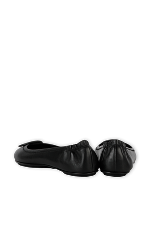 Mini Travel Ballet Shoes in Black TORY BURCH