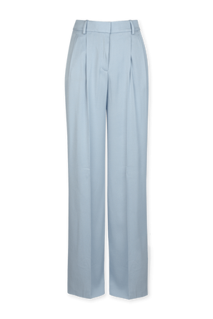 High Waisted Trousers In Light Blue HUGO