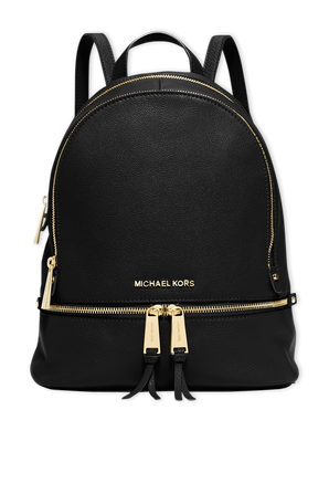 Rhea MD Back Pack in Black MICHAEL KORS