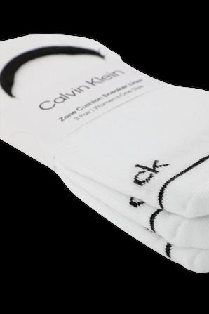 3Pack Logo Socks in White CALVIN KLEIN