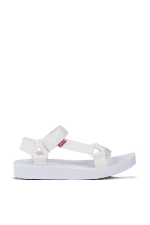 Cadys Low Slippers in  White LEVI`S