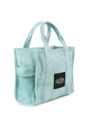The Tie Dye Mini Tote Bag in Blue MARC JACOBS