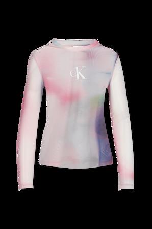 Pride - Long Sleeve Mash T-Shirt in Multicolor CALVIN KLEIN