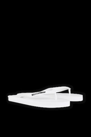 Flip Flops in White DSQUARED2