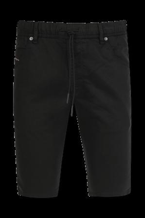 Krooshort JoggJeans in Black DIESEL