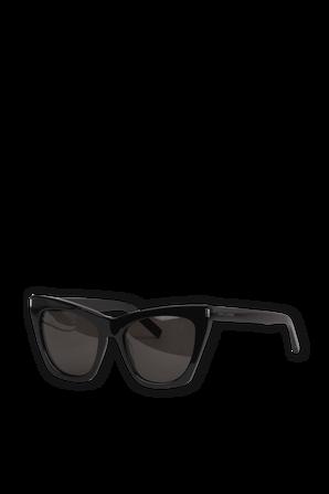 New Wave SL214 Kate Sunglasses in Black SAINT LAURENT