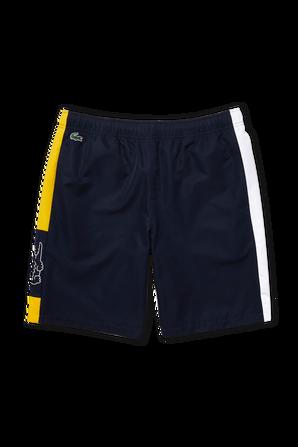 מכנסיים קצרים בצבע כחול נייבי LACOSTE