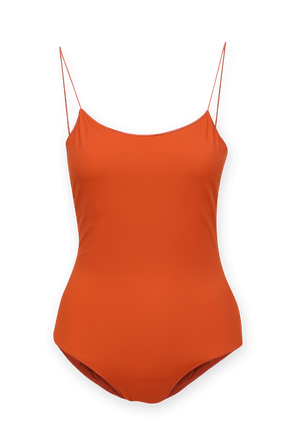 Lumiere Maillor One Piece Swimsuit in Orange OSEREE