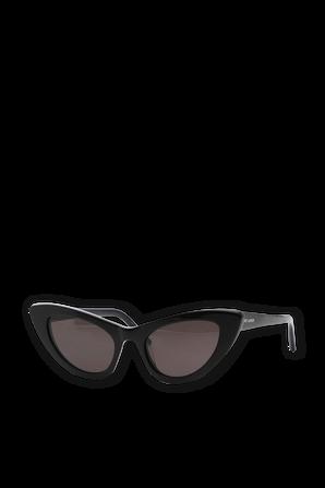 New Wave SL 213 Lily Sunglasses in Shiny Black SAINT LAURENT