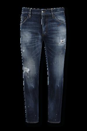 Tidy Biker Jeans in Medium Wash DSQUARED2