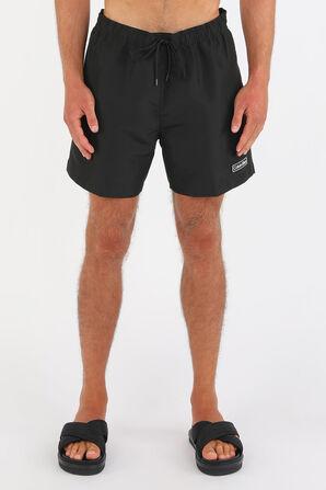 Medium Drawstring Swim Shorts in Black CALVIN KLEIN