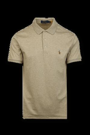 Classic Short Polo Shirt in Beige POLO RALPH LAUREN