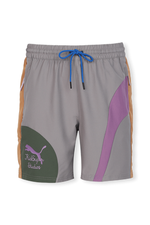 PUMA x KidSuper Woven Shorts in Multicolor PUMA