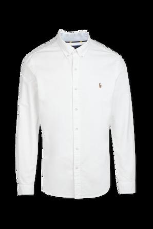 Slim Fit Shirt in White POLO RALPH LAUREN