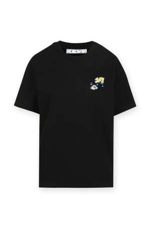 Check Arrows T Shirt in Black OFF WHITE