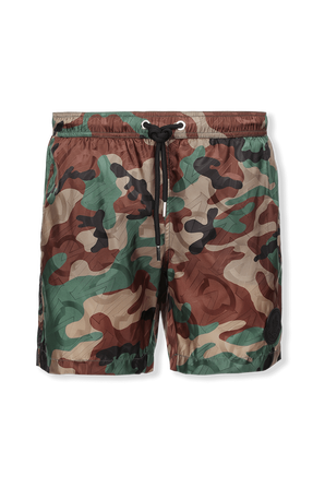 Regular fit Swim Shorts in Camouflage MONCLER