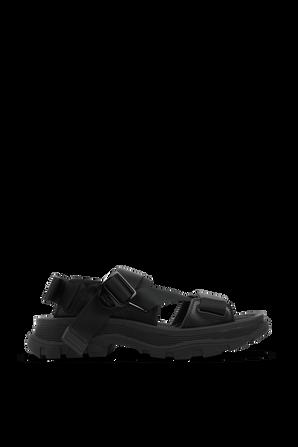 Tread Sandals in Black ALEXANDER MCQUEEN